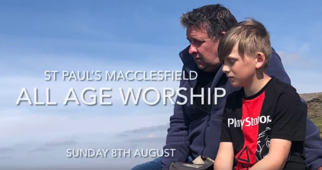 All Age Worship – 8th August
