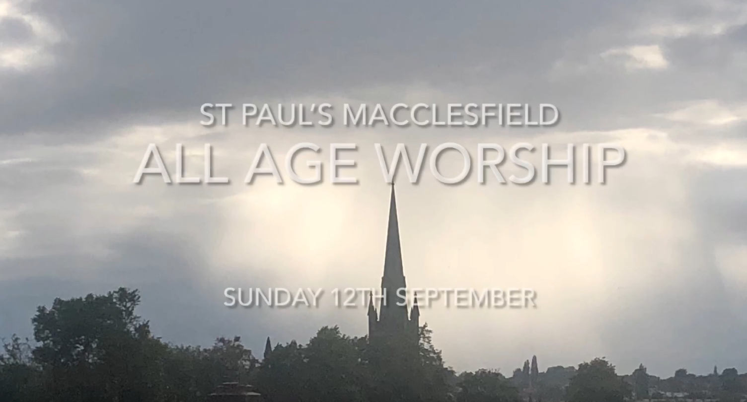 All Age Worship – 12th September